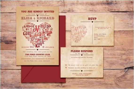 printable digitalwedding invitations el