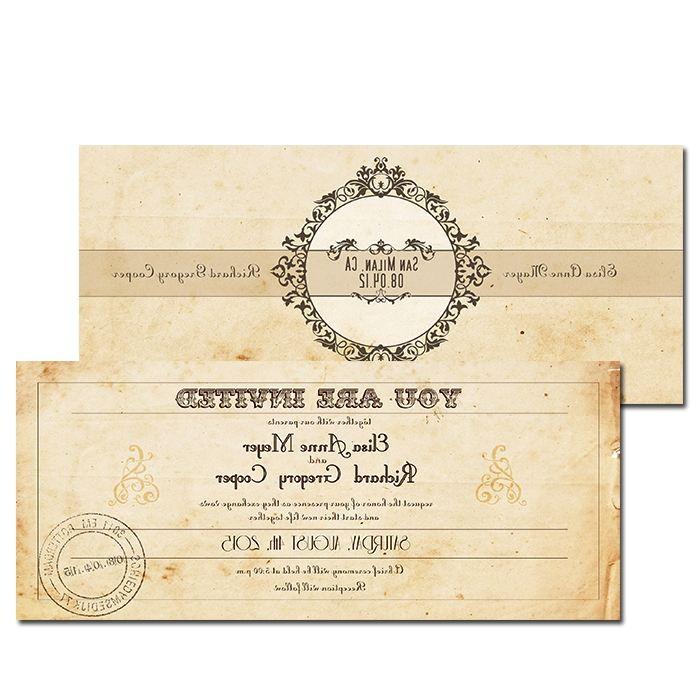 wedding invitations el paso