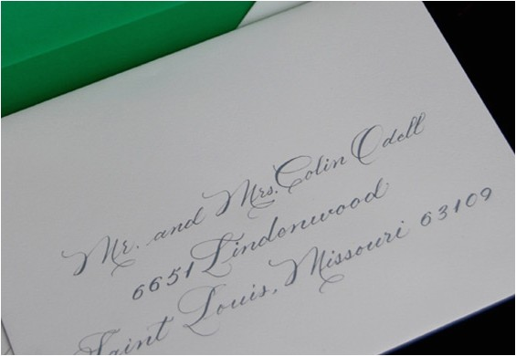 proper etiquette for addressing wedding invitations template