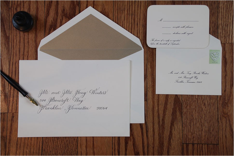 wedding envelopes proper etiquette on how to address and organize
