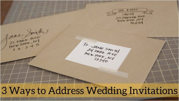 wordings etiquette wedding invitation envelope also addressi