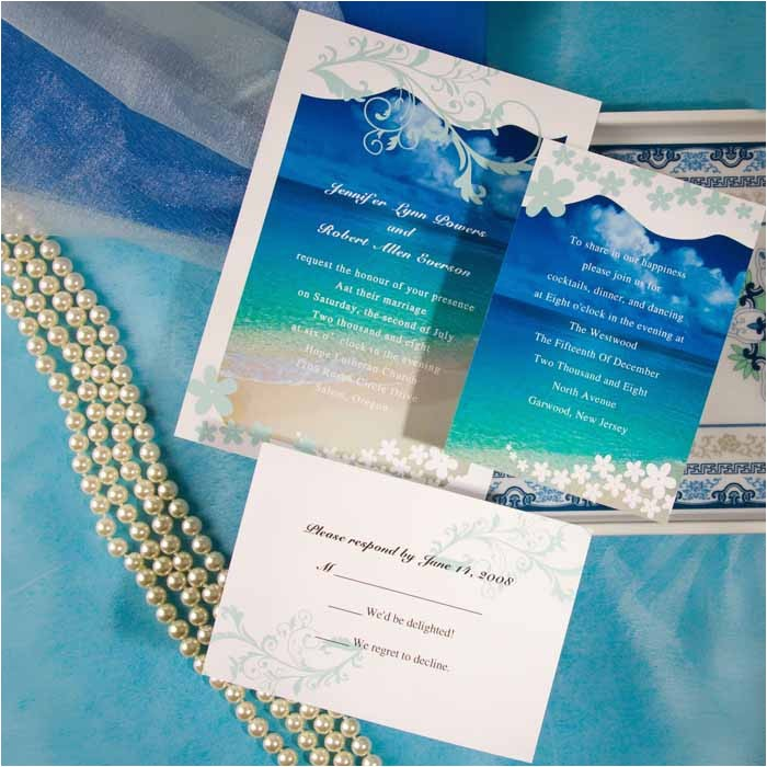 modern seaside summer beach wedding invitations ewi038