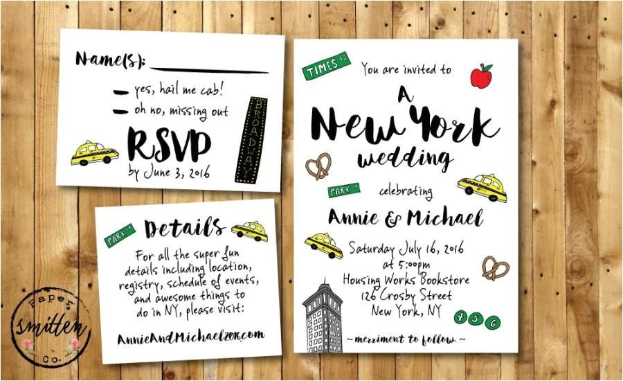 best wedding invitations nyc