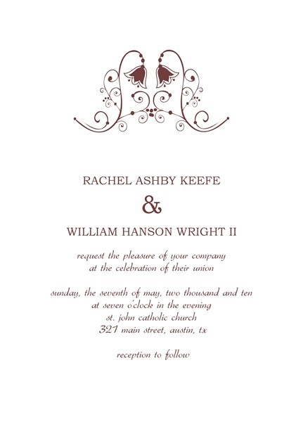 spanish wedding invitations examples
