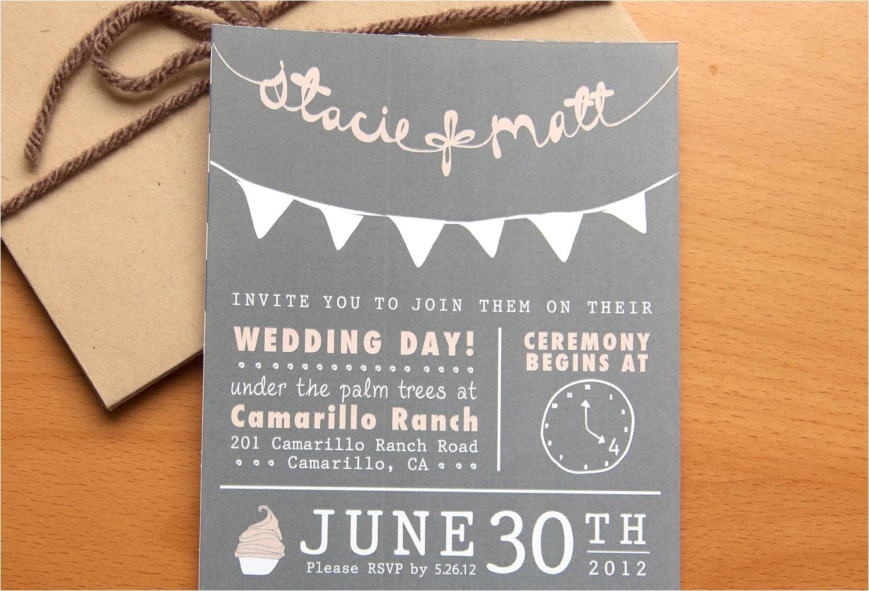 budget wedding ideas diy invitations etsy weddings chalkboard chic