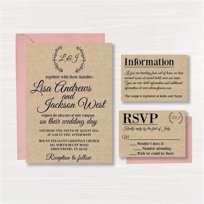 free online invitations with rsvp template