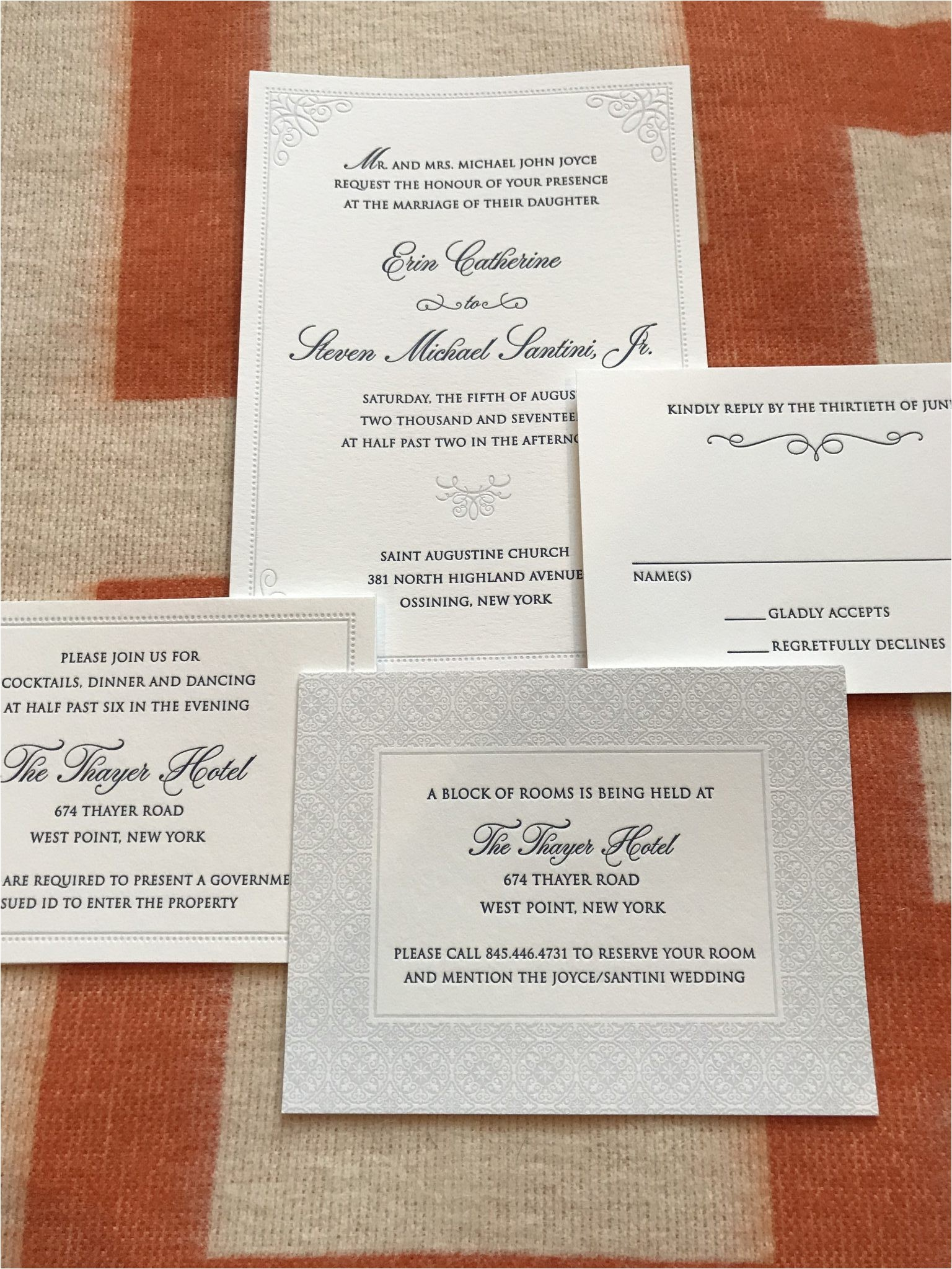 wedding invitations westchester county ny