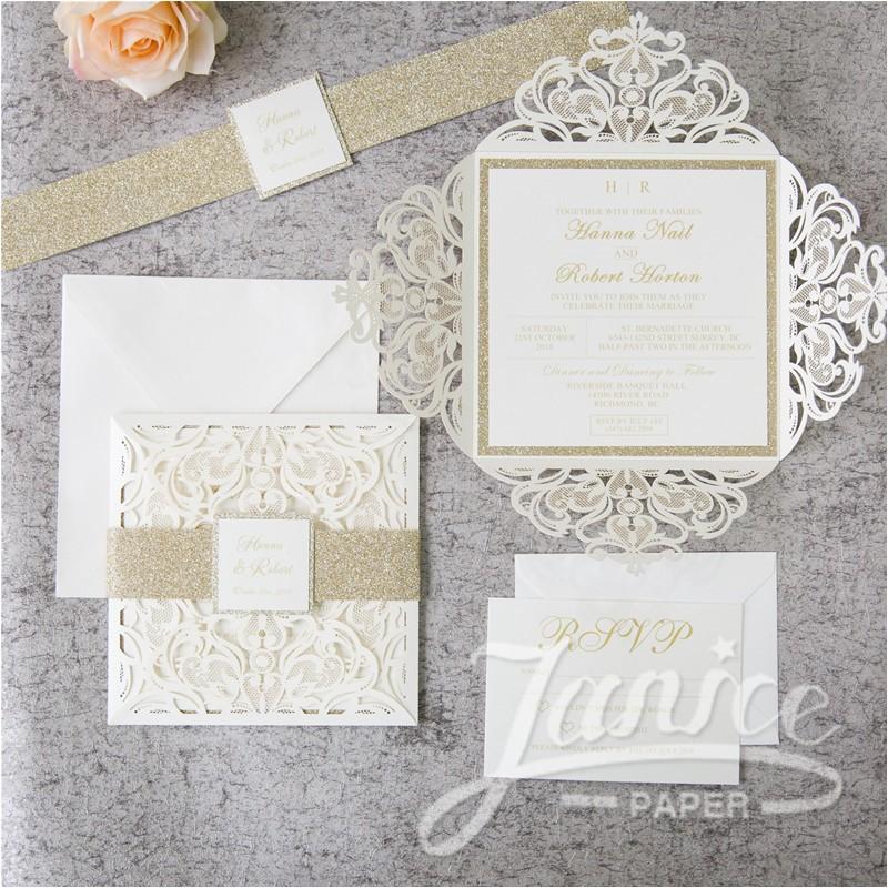 fabulous lace wholesale wedding invitation suite wpl0019s p 658