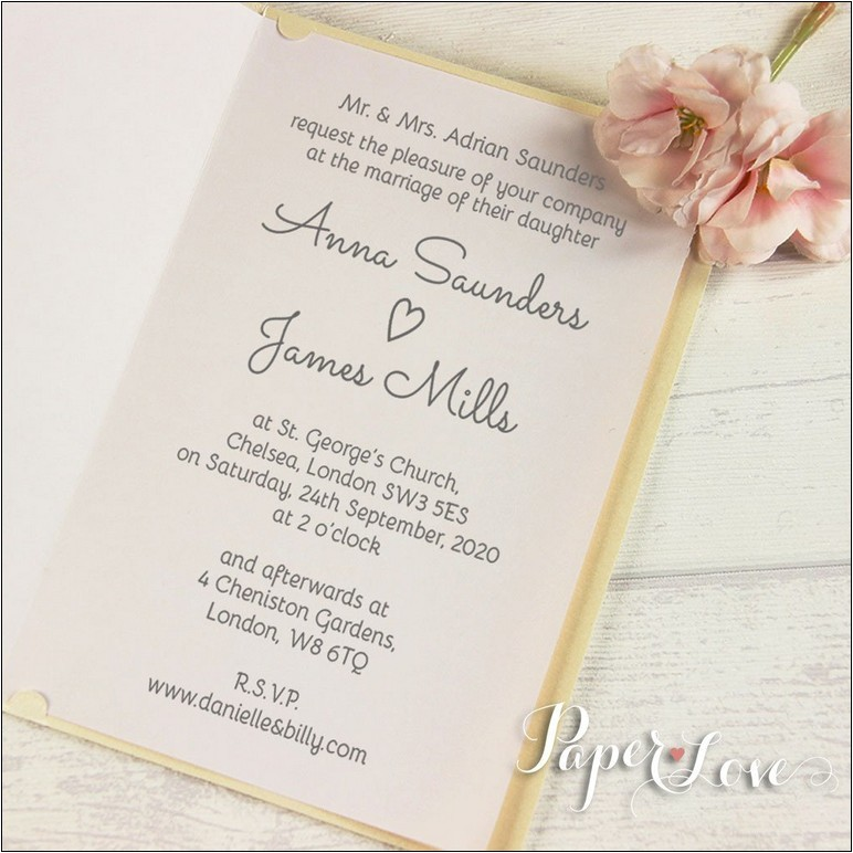 personalised wedding invitations with guest names