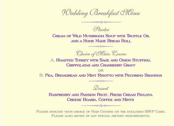 booklet pages menu page
