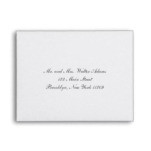 envelope for rsvp card wedding invitation envelope 121077669115090328