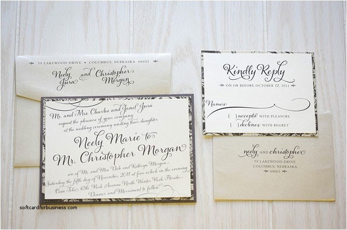 the proper way to address wedding invitations