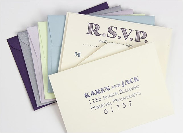 response envelopes