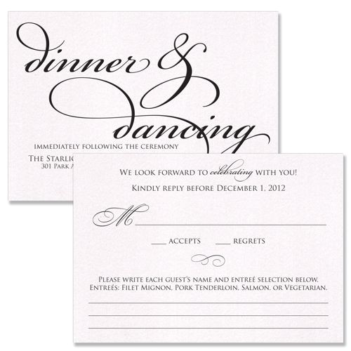best designing wedding invitation reception card wording dinner and dancing event celebrating white background