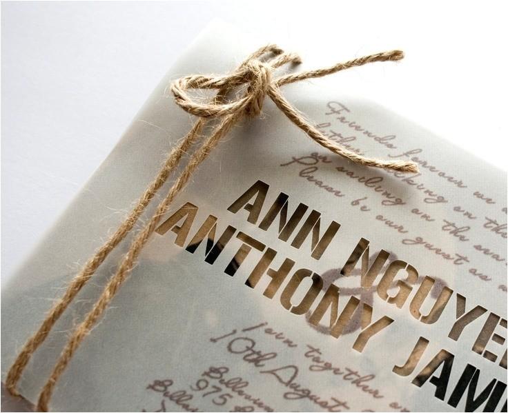 20 astonishing rustic wedding invitations ideas