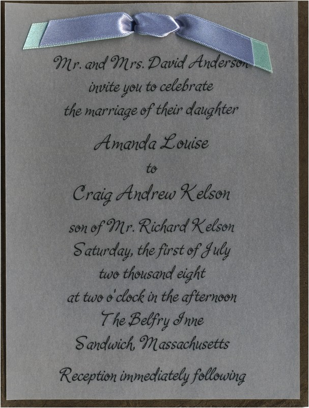 post blue handmade wedding invitations 375778