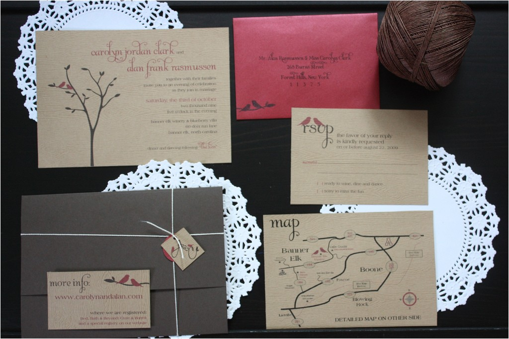 do it yourself wedding invitations in a wedding plan