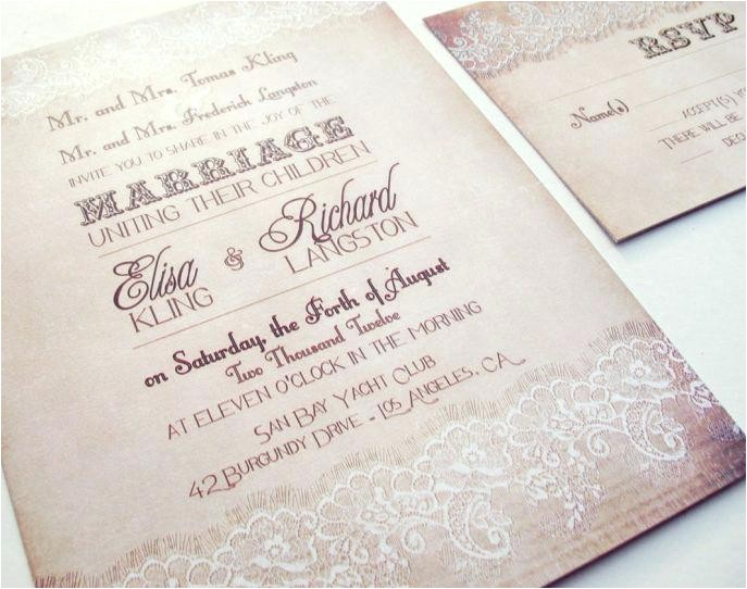 wedding invitation kits do it yourself cheap wedding invi
