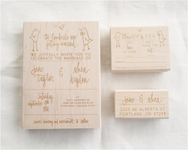 wedding invitation stamp suite wedding invitation rsvp and address stamp custom wedding invite invitation stamp lovebirds