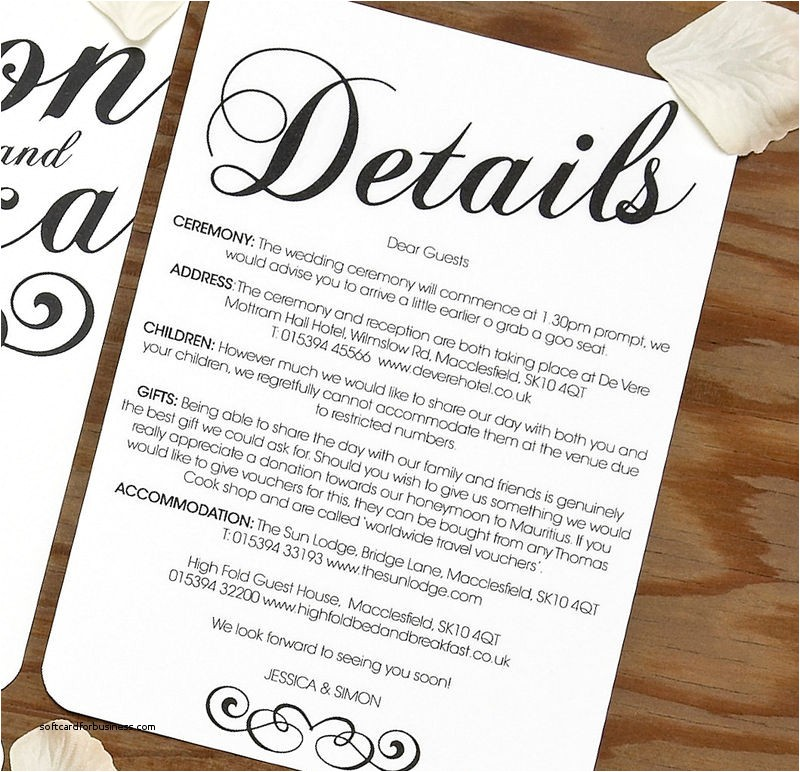 what information to put on a wedding invitation