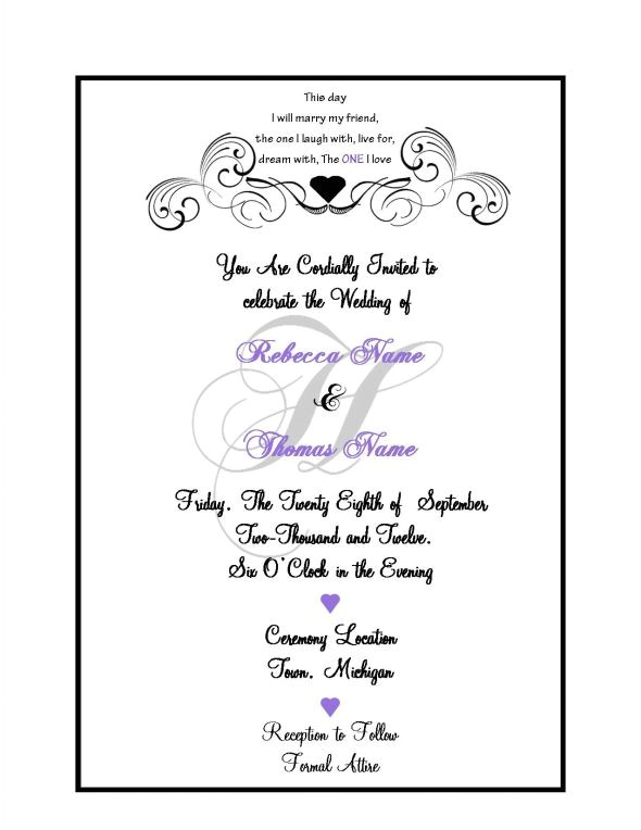 what to put on a wedding invitation what to put on a weddi