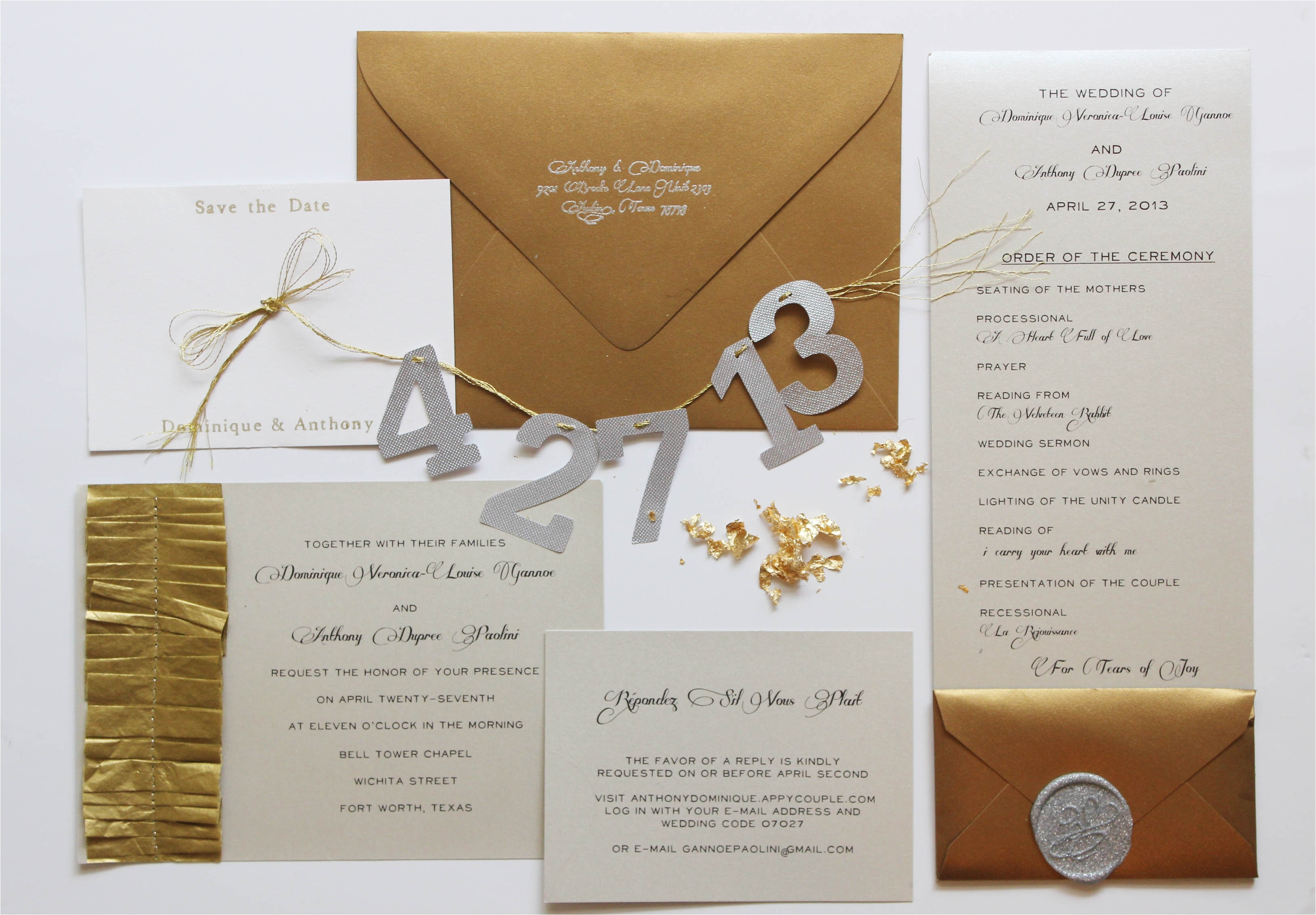 6 tips for diying your wedding invitation suite