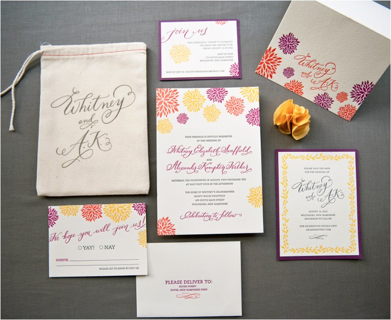 wisconsin themed wedding invitation suite colorful design pastels color vintage soft with envelope and sticks wedding invitations suite