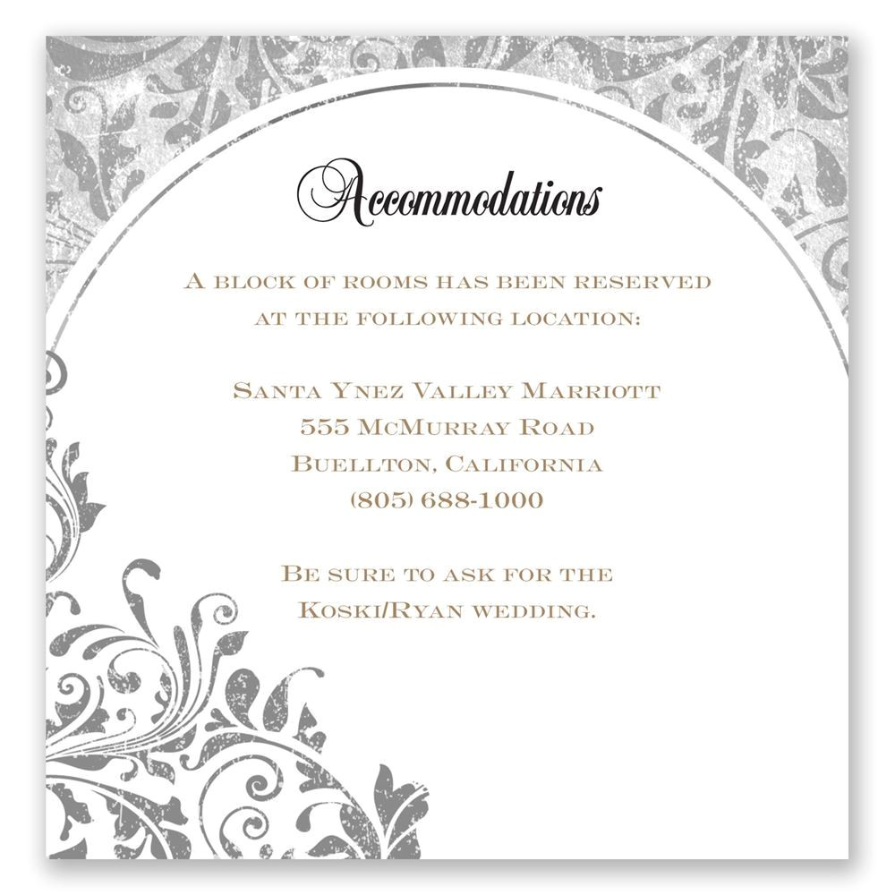 what to include in wedding invitation