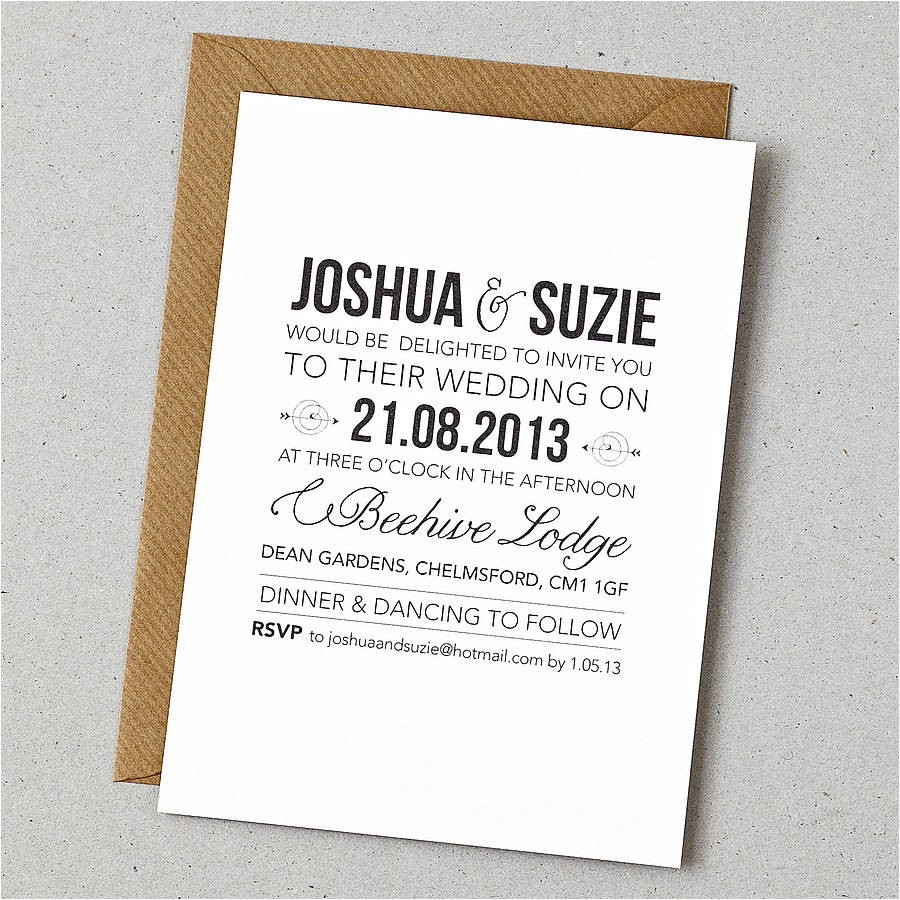 which wedding invitation company
