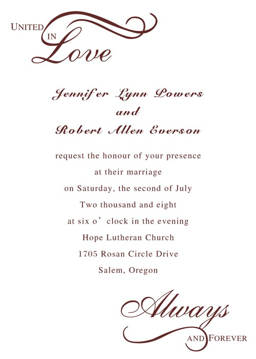 templates how to write a wedding invitations plus how to w
