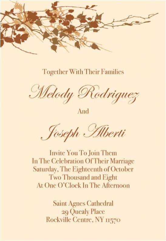 What to Put On A Wedding Invitation Wedding Invitation Templates What to Put On Wedding