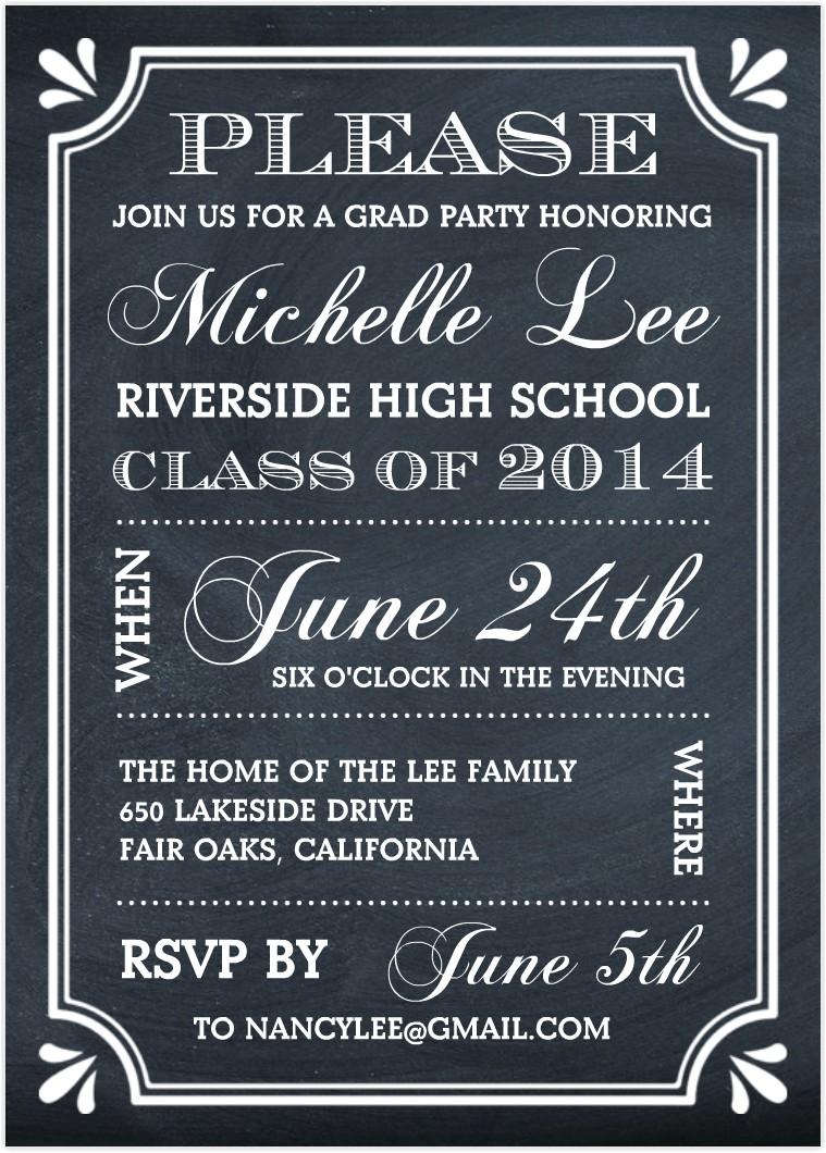 What to Say On Graduation Party Invitation Create the Perfect Graduation Party Invitation Mixblog