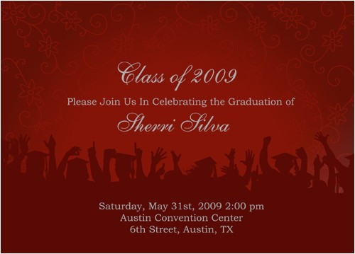 how to write a graduation announcement for the newspaper