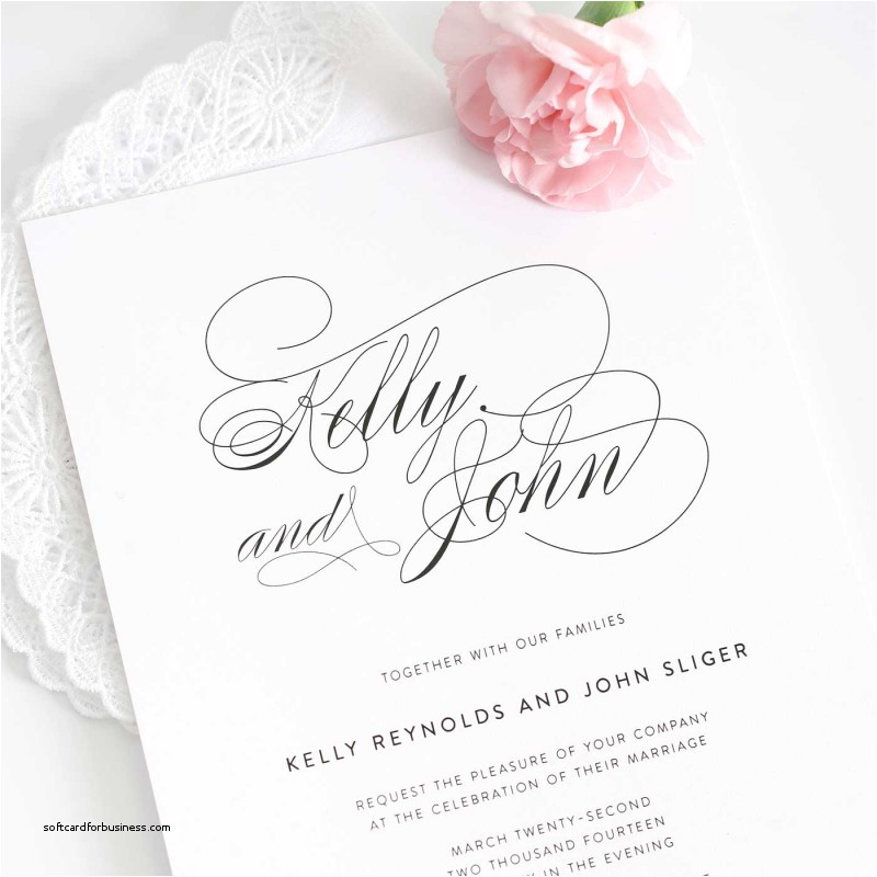 what to write in a wedding invitation