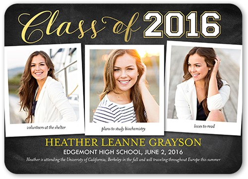graduation announcement wording ideas