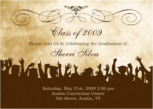 how to write graduation announcements