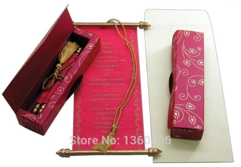 wedding invitation scrolls wholesale 031536840