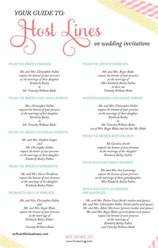 invitation wording wedding couple hosting