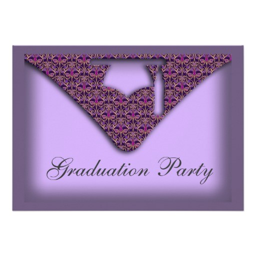 Zazzle Graduation Invitations Graduation Cap Party Invitation Zazzle