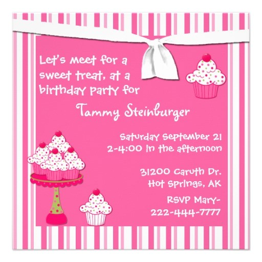 10th birthday party invitation wording
