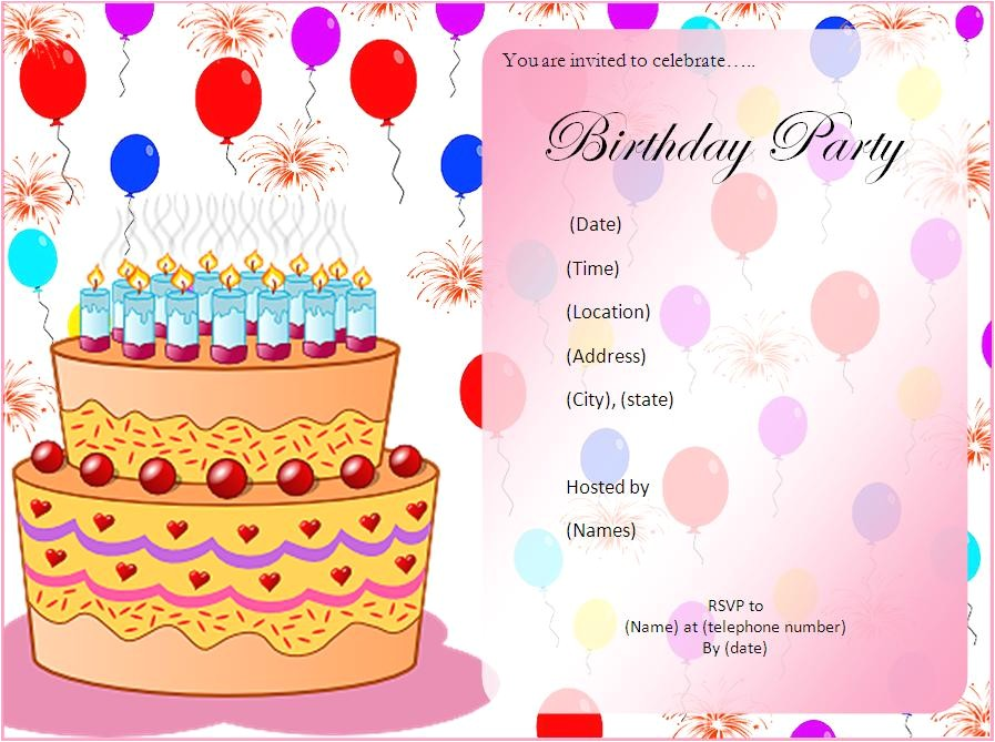 11th birthday party invitations wording
