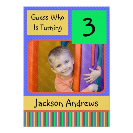 3 Year Old Boy Birthday Party Invitations 3 Year Old Birthday Party Invitation Wording Free