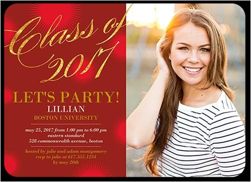 3x5 graduation invitations
