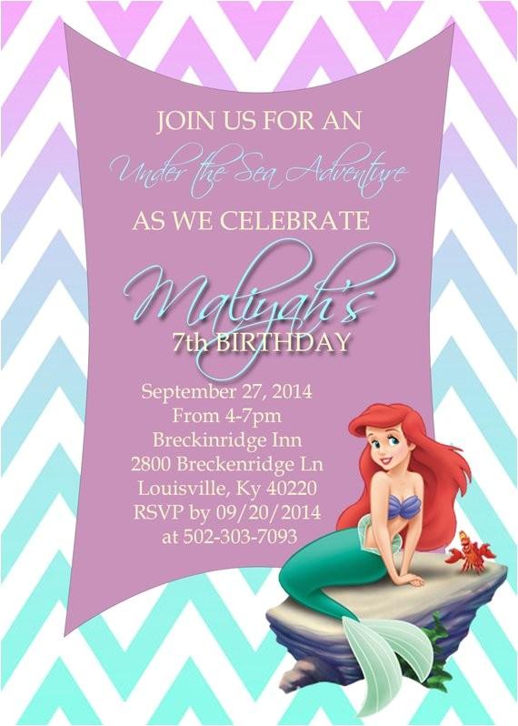 birthday invitation template little