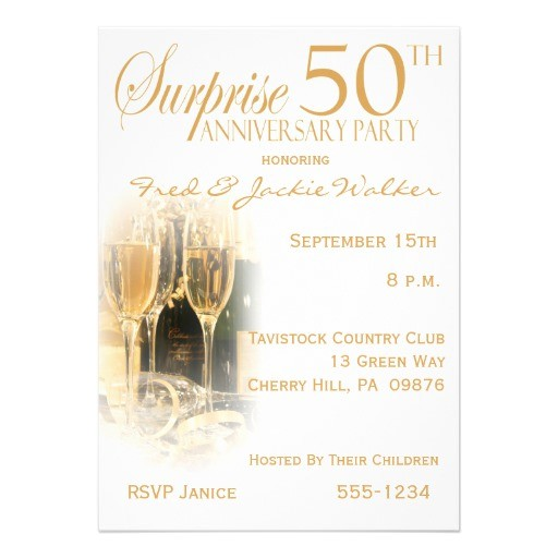 surprise 50th anniversary party invitations 161720233470740366