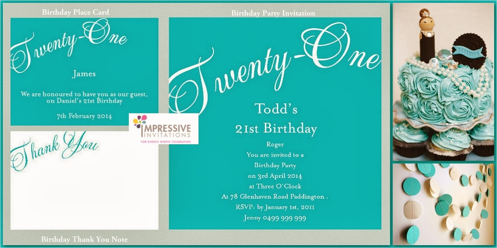 invitation ideas for 21st birthday party