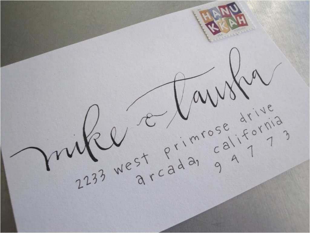 how to address wedding invitation