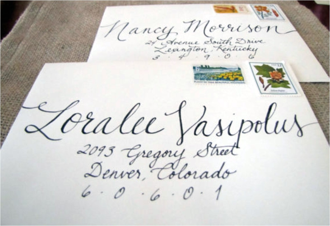 using titles on wedding invitations and wedding envelopes