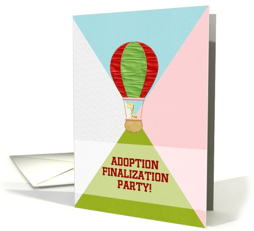 adoption finalization party giraffe in 1427780