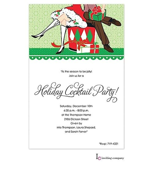 After the Holidays Party Invitations 17 Best Images About Christmas Party Invitations On Pinterest